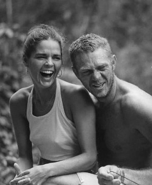 Cinema Style File--Steve McQueen and Ali MacGraw Heat Up ...  Ali Macgraw And Steve Mcqueen