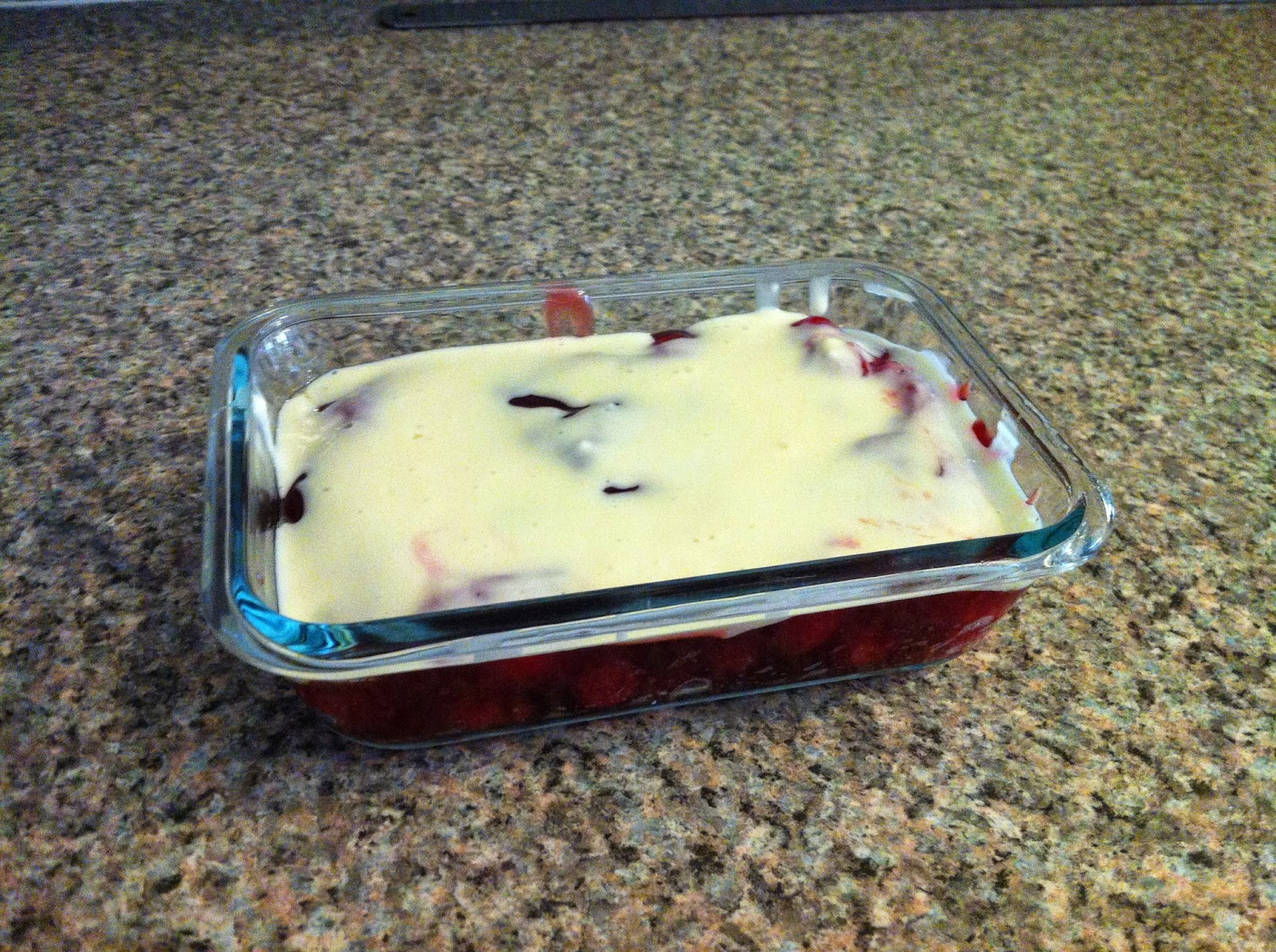 baking cherry crisp cream cheese fruit dessert