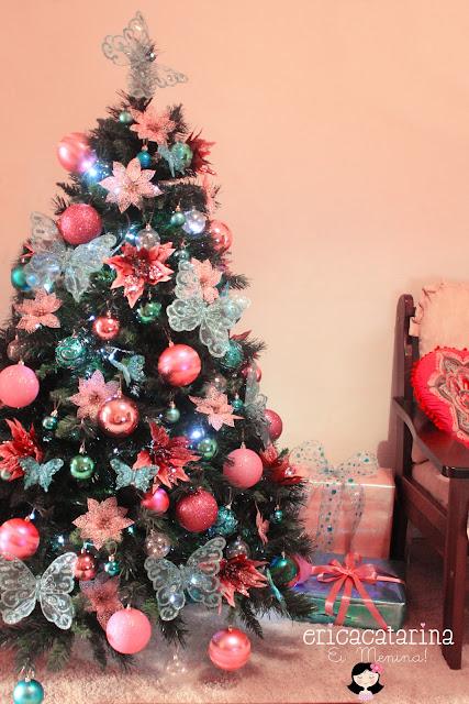 decoracao de arvore de natal azul e dourado : decoracao de arvore de natal azul e dourado: , rosa, azul, verde, vermelho, dourado ou da cor que vocês quiserem