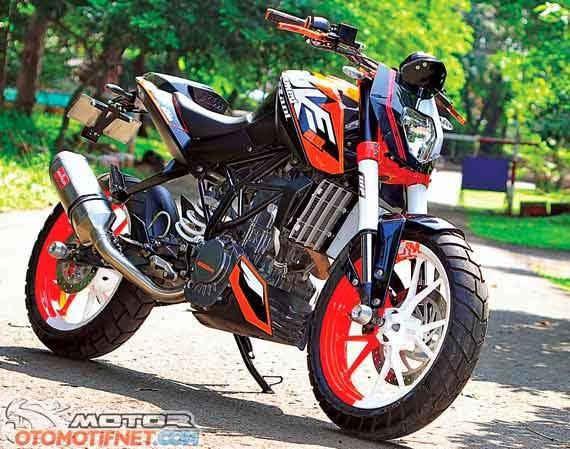 Gambar Modifikasi KTM Duke 200