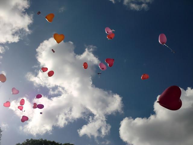 Herzens-Luftballons