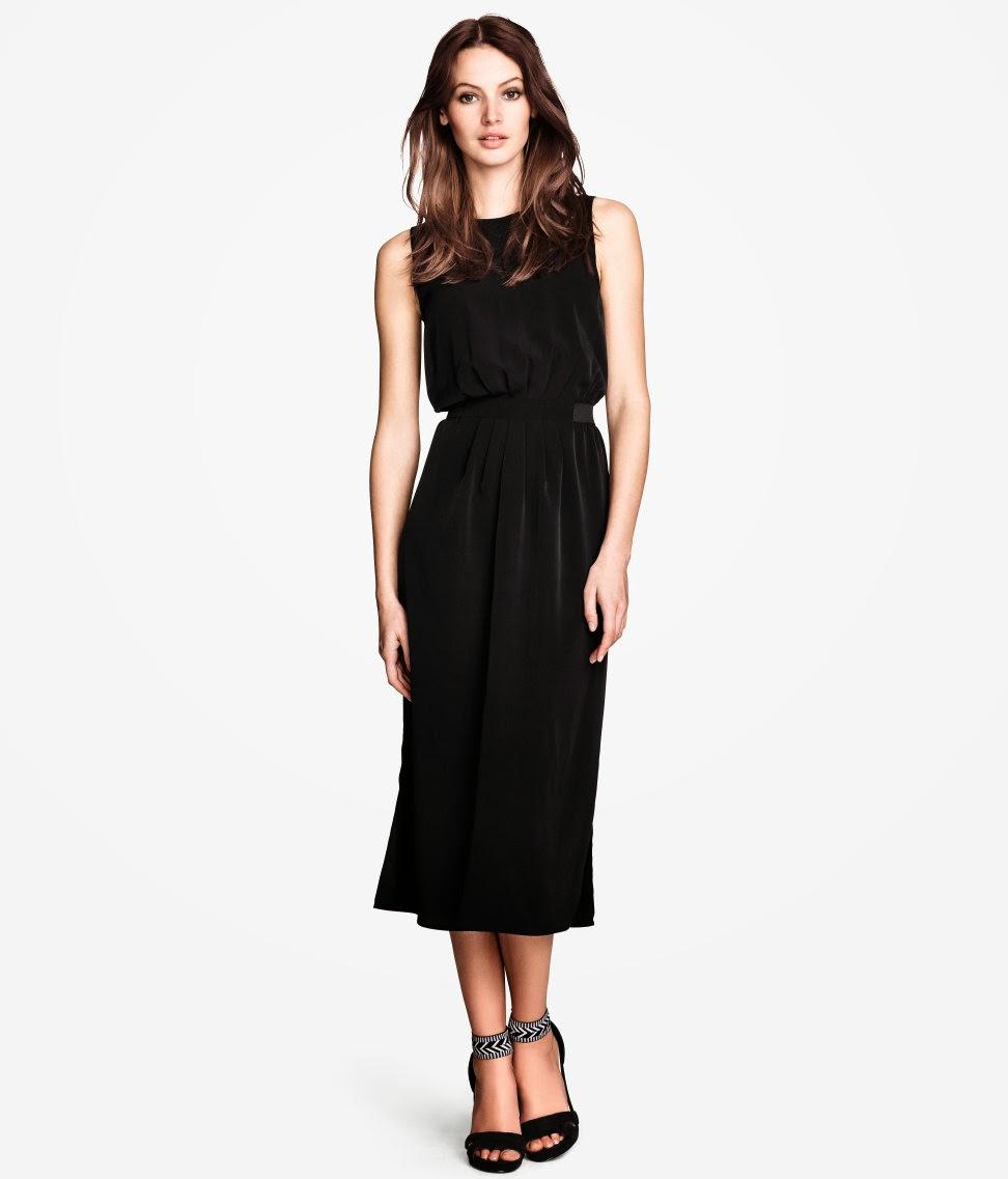 dokuma+elbiseler H & M 2014 Sommer Kleidung Models