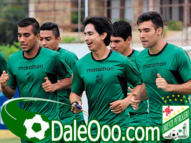 Oriente Petrolero - Ricky Añez - Marvin Bejarano - Danny Bejarano - Alcides Peña - Richar Estigarribia - DaleOoo.com web del Club Oriente Petrolero