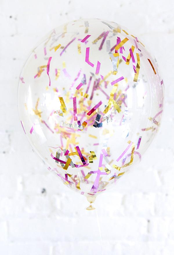 globos confetti decoracion nochevieja