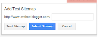 sitemap submission