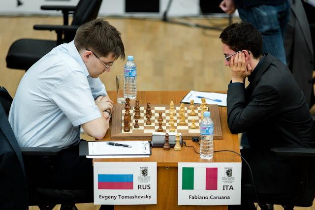 Grand Prix Khanty-Mansiysk. Caruana - Tomashevsky