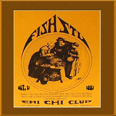 Fish & Stu Featuring John Cipollina - Chi Chi Club - San Francisco - 1987-10-17