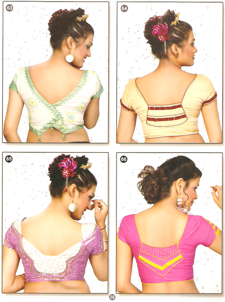 Chicboutique Latest Blouse Back Neck Designs Images