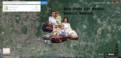 Self-drive car rental service in Tawau