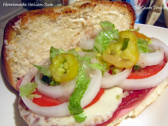 Homemade Italian Sub