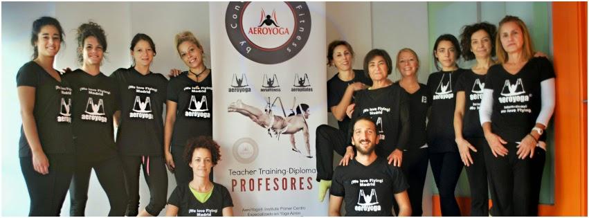 aero pilates, yoga aereo cursos seminarios