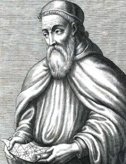 Dibujo de Américo Vespucio