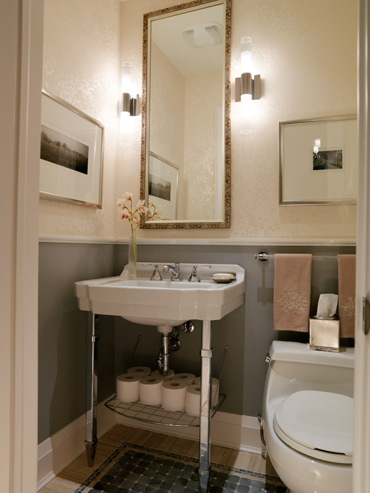 Sarah Richardson Powder Room Ideas