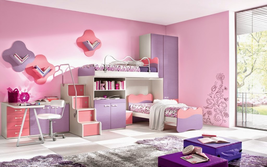 20 little girl 39 s bedroom decorating ideas for Girls bedroom designs images