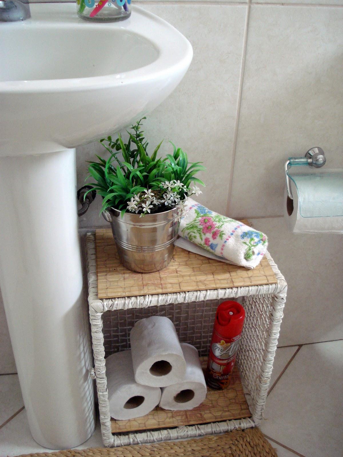 Atraiu meu olhar: Organizando o banheiro #366D34 1200 1600