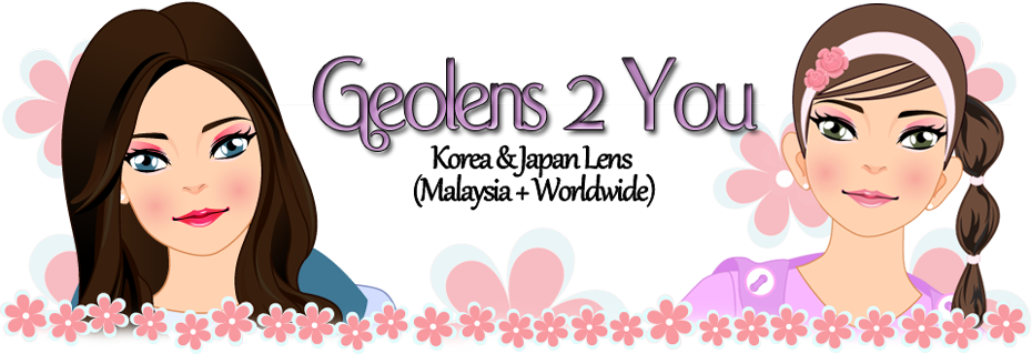 KOREAN GEO LENS  IN MALAYSIA ~ FOR A BIG-DOLLY-EYE LOOK