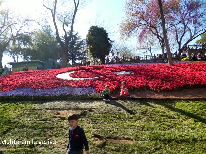 laleden türk bayrağı
