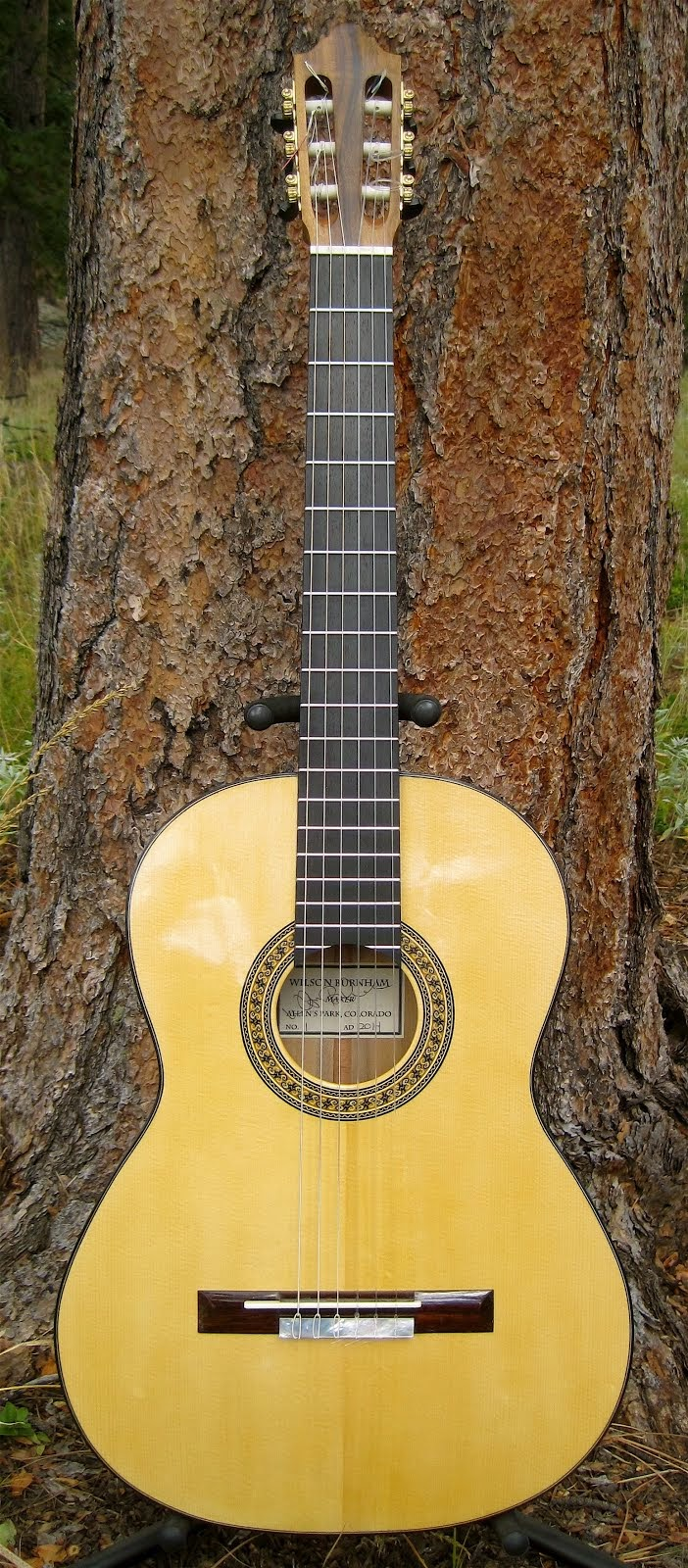 Just Completed!  Antonio Torres Fe 19 Model, Engelmann Spruce/California Laurel