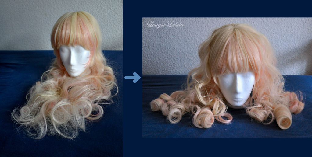 Lalelus Dream How To Curl A Synthetic Wig