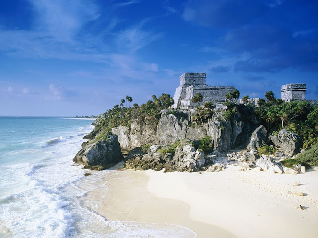 best beach in the world, tulum beach, mexico