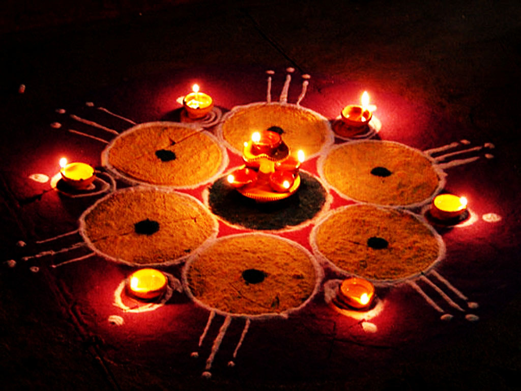 Happy Diwali Beautiful And Indian Rangoli Designs Hd Pictures