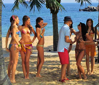 Shooting Music Video with Bikini Models - Varna, Bulgaria