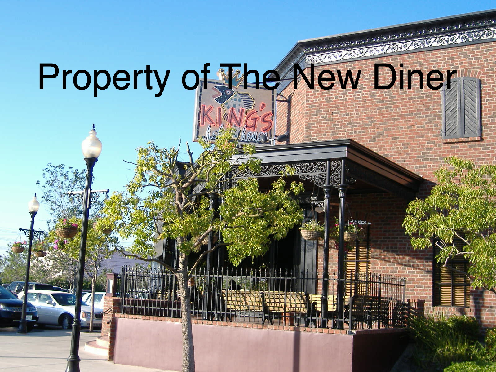 The new diner kings fish house anaheim for Kings fish house