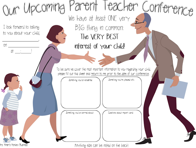 https://www.teacherspayteachers.com/Product/Conference-Reminder-Form-2195851