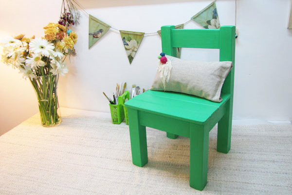 Cuchita bacana talleres de reciclado de muebles y - Con que pintar muebles de pino ...