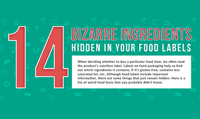 Crazy Food Facts You Won't Find on Labels