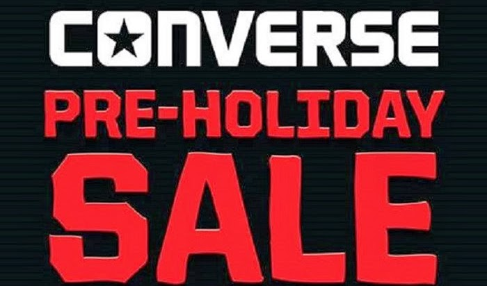 Converse Pre Holiday Sale up to 50% OFF Nationwide