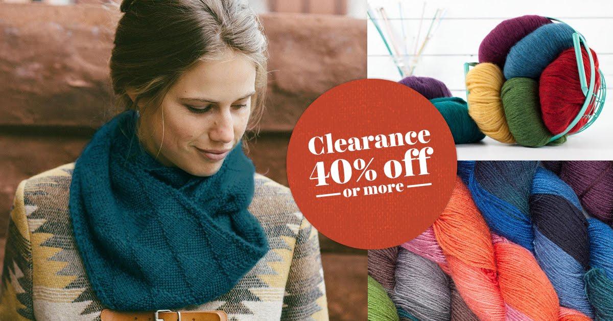Spring yarn sale