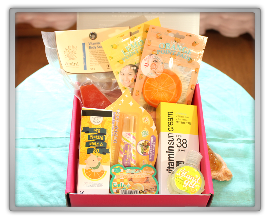 겟잇뷰티박스 by 미미박스 memebox beautybox # special #12 vitamin care unboxing review preview box look inside