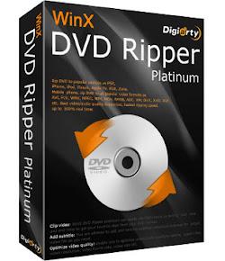 WinX DVD Ripper Platinum 7.5.6 build 4.7.14 - A Rapido DVD ripper - extrae el DVD AVI , MP4 , MPEG, iPhone , iPad , iPod , PSP