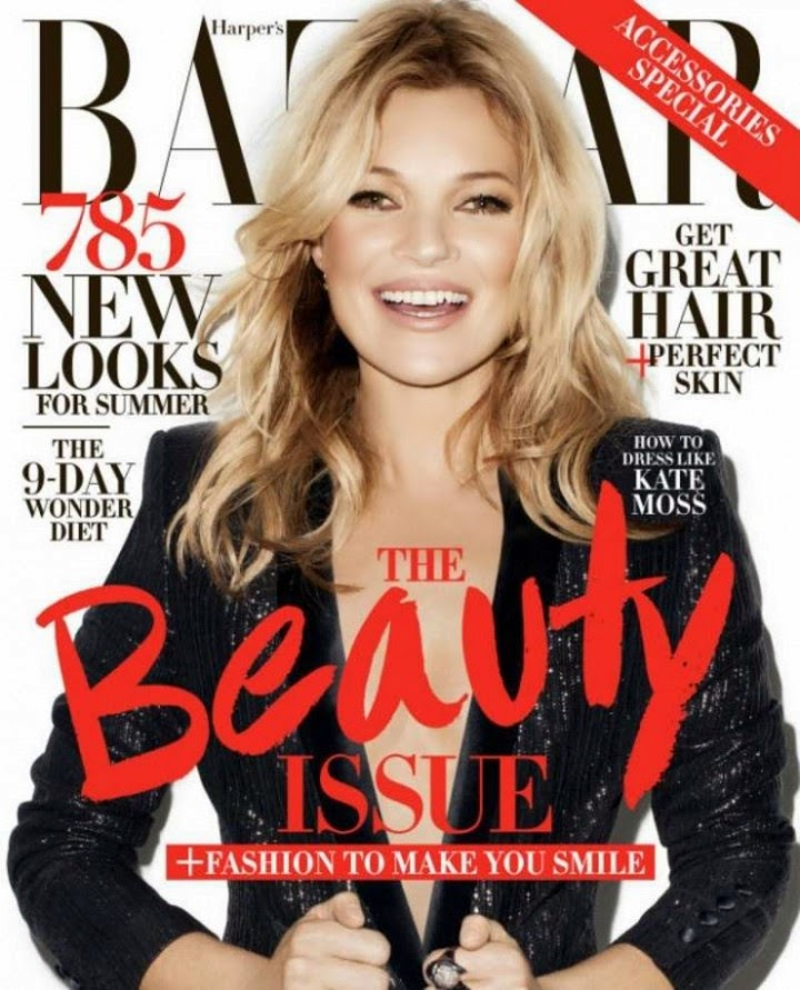 Kate Moss for Harper's Bazaar (May 2014)