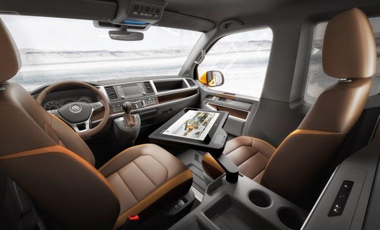 voiture communicante volkswagen tristar un bureau mobile taill pour l 39 aventure. Black Bedroom Furniture Sets. Home Design Ideas