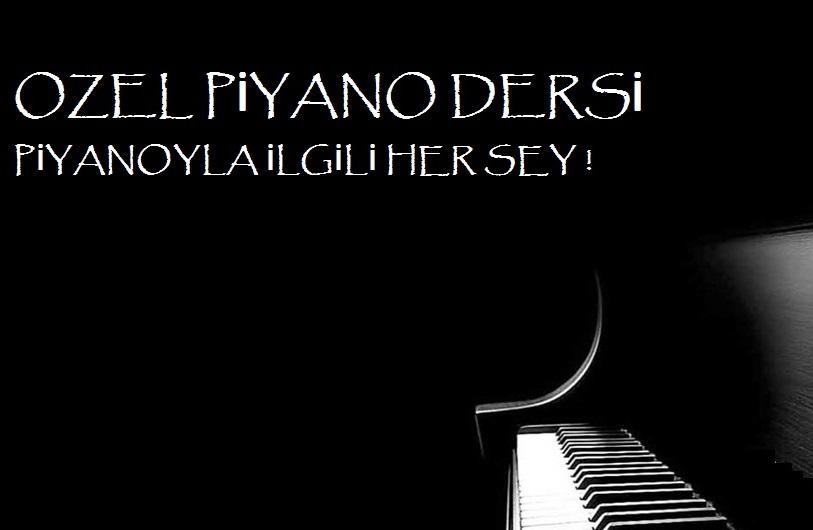 Özel Piyano Dersi