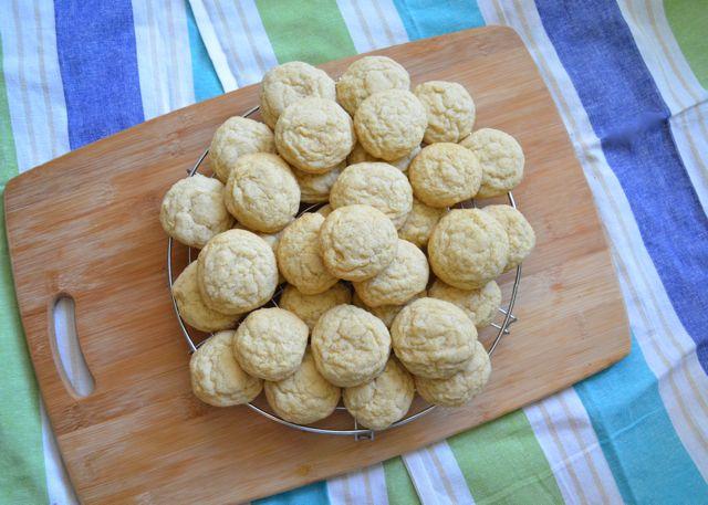 Saffron Vanilla Sugar Cookies