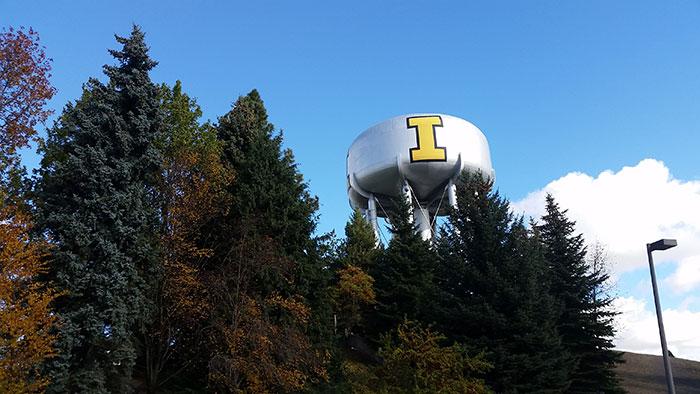 University of Idaho Water Tower