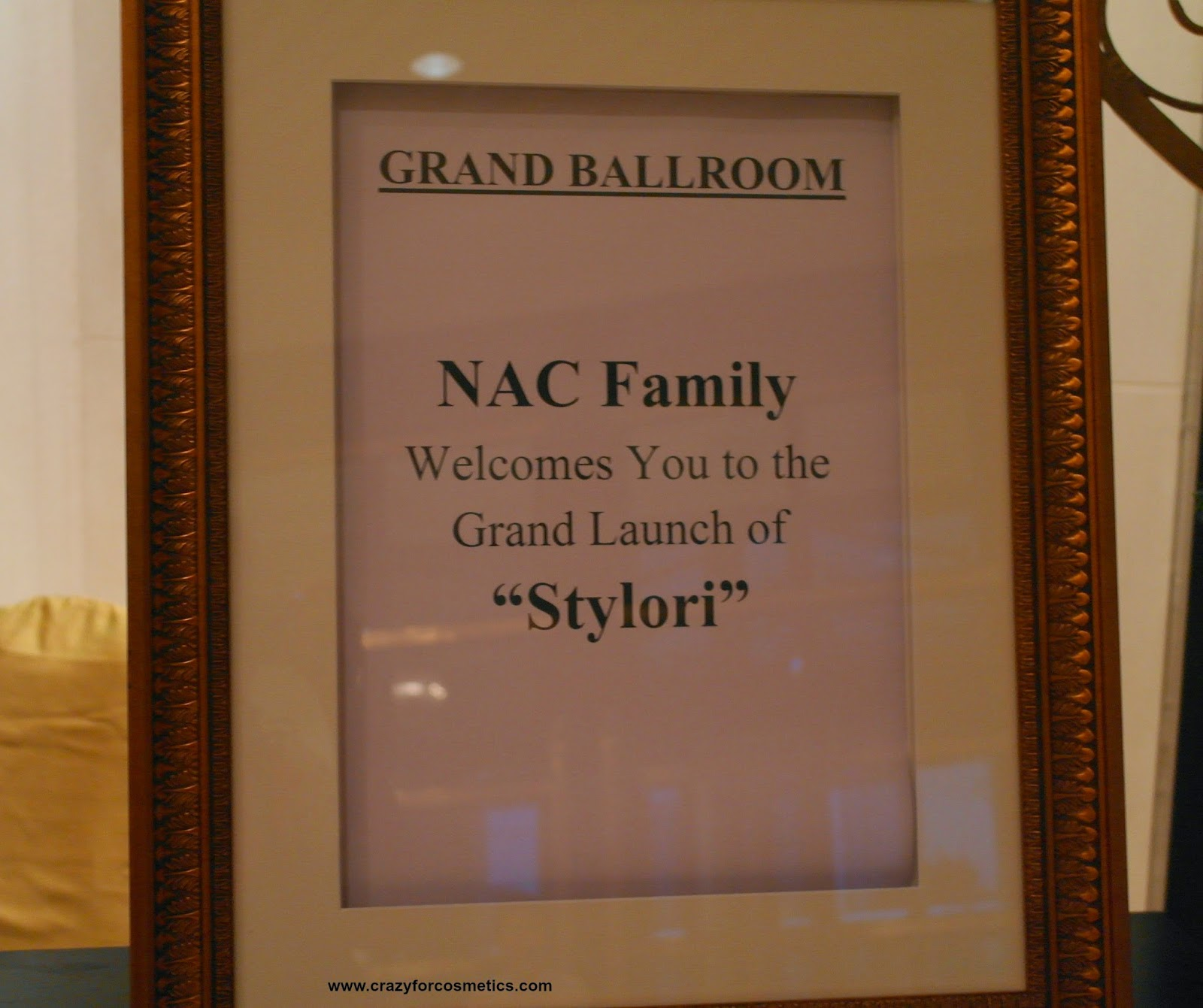 NAC Stylori launch