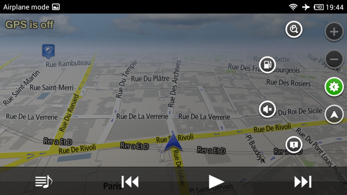 How to use an Android device as a sat nav Without WiFi