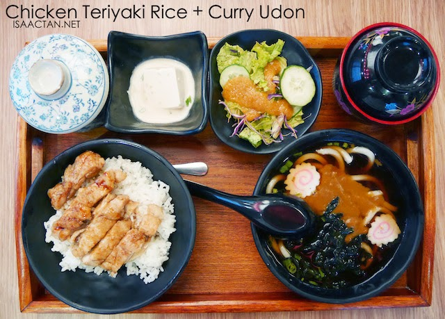 Tokyo Kitchen @ Ikon Connaught Cheras (Chicken Teriyaki Rice & Curry Udon Set - RM24.80)