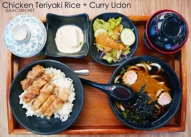 Tokyo Kitchen @ Ikon Connaught Cheras (Chicken Teriyaki Rice & Curry Udon Set - RM24.80)