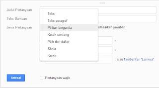 Cara Membuat Formulir di Blog