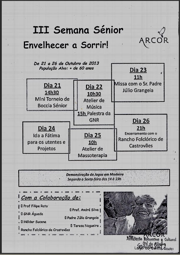III SEMANA SÉNIOR DA ARCOR