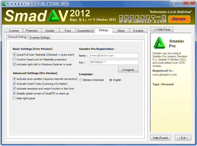 SMADAV Rev. 9.1 Full With Key