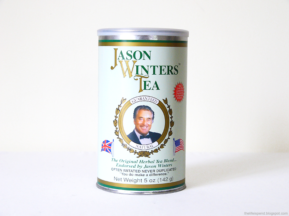 Jason Winters, Pre-Brewed Maximum Strength Herbal Tea Natural