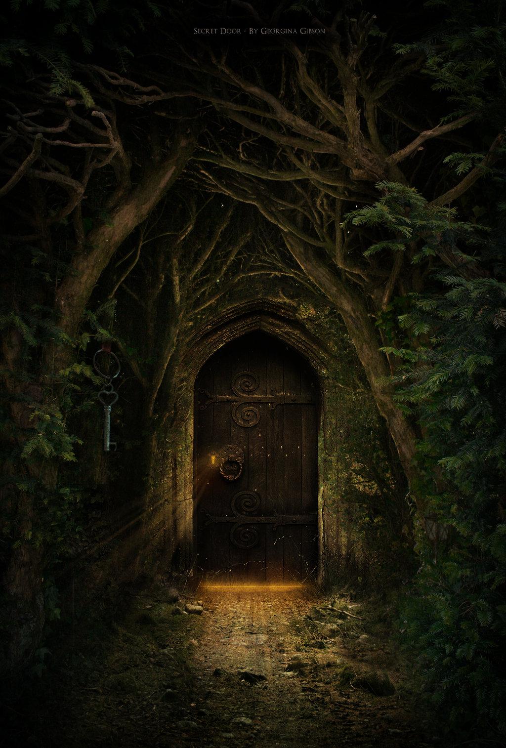 Il portale segreto il portale segreto for Secret fairy doors by blingderella
