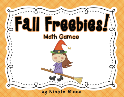 http://www.teacherspayteachers.com/Product/Halloween-Math-Freebies-910752