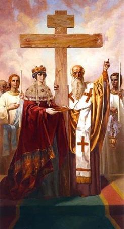 Картинки по запросу Воздвижение Креста Господня в живописи